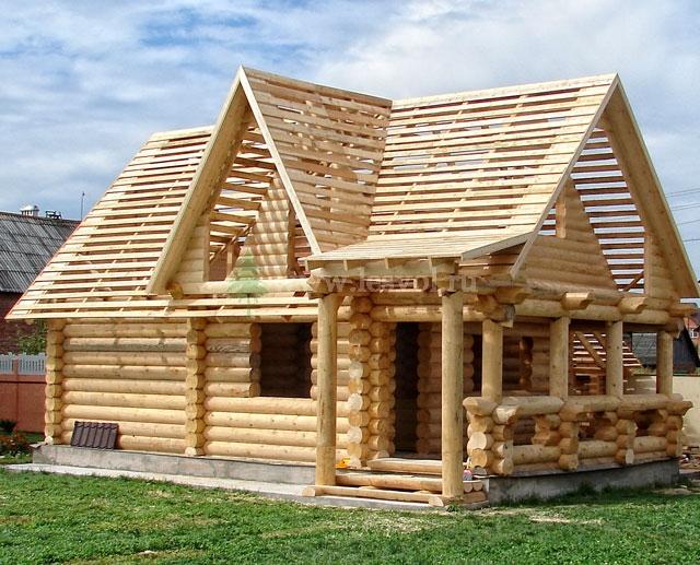 Деревянные дома срубы домов и срубы